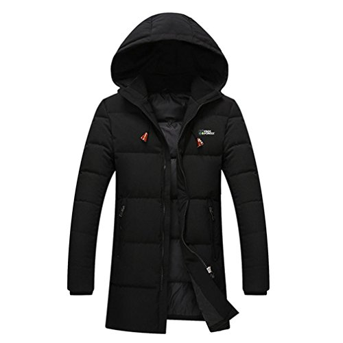YANXH The New Down jacket Men In the long Section Youth Fashion coat , black , 5xl by YANXH outdoors