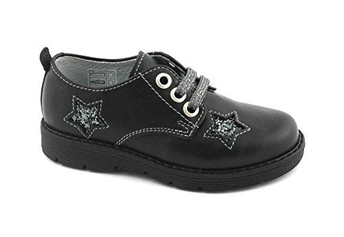 Balocchi Spielzeug 971 672 30/35 Melby Schwarz Klassische Schuhe Kind Schnürsenkel Nero