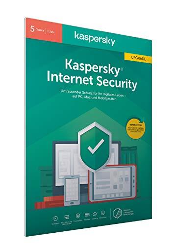Kaspersky Internet Security 5 Geräte Upgrade (Code in a Box) (FFP)
