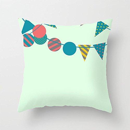 yinggouen triángulo y círculo decorar para un sofá funda de ...
