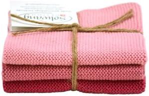Solwang paños de limpieza Color Rosa Antiguo combinado punto ...