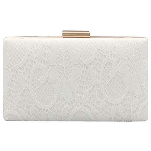 Lace Evening Bag Clutch Purse Wedding Party Handbag