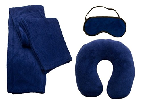 Simplicity Protable Travel Blanket Pillow