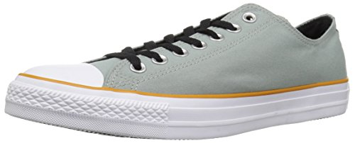 Converse Chuck Taylor All Star Color Blocked Low TOP Sneaker, mica Green/Turmeric Gold/White, 11.5 M -