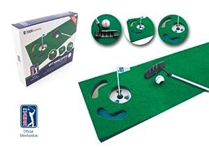 PGA TOUR Indoor Putting Set – Putting Matte mit Putter