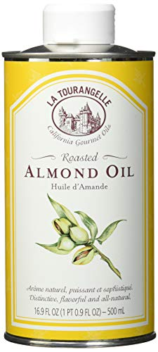 La Tourangelle Roasted Almond Oil 16.9 Fl. Oz, All-Natural, Artisanal, Great for Salads, Grilled Fish and Meat, or ()
