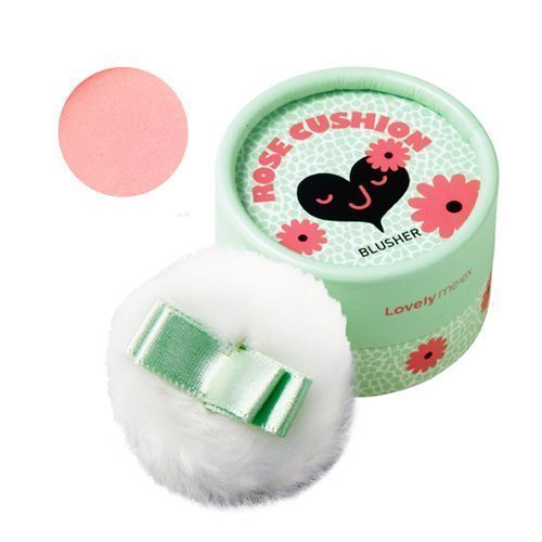 The Face Shop Lovely ME:EX Pastel Cushion Blusher #1 Rose Cushion by (Face Blusher)