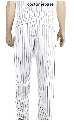 costumebase Furies Style Baseball Pinstripe Pants Only Bottoms