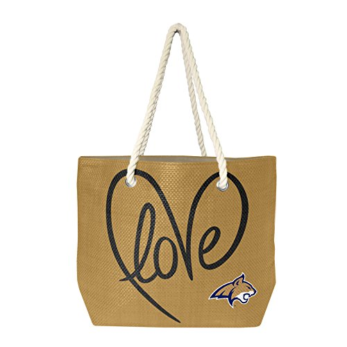 (NCAA Lousiana Lafayette Ragin' Cajuns Rope Tote Bag)