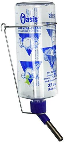 (Kordon/Oasis (Novalek) SOA80800 Rabbit Water Bottle, 32-Ounce, Clear)