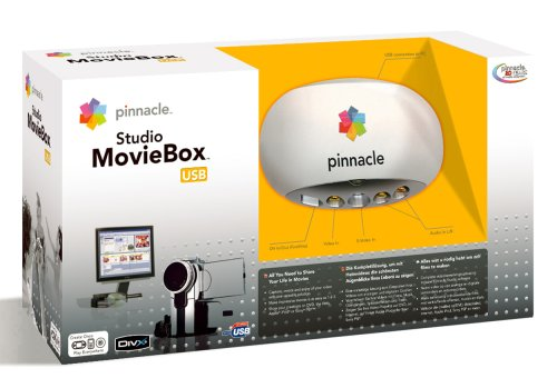 Pinnacle studio moviebox plus usb video capture 8230-10022-31.