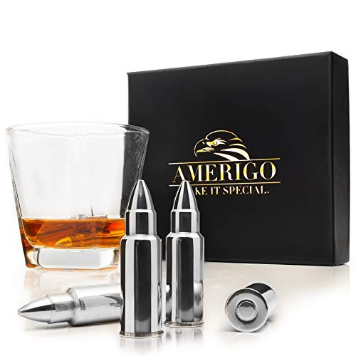 Whiskey Stones Bullets with
