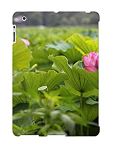 Fashion Protective Lotus Case Cover Design For Ipad 2/3/4
