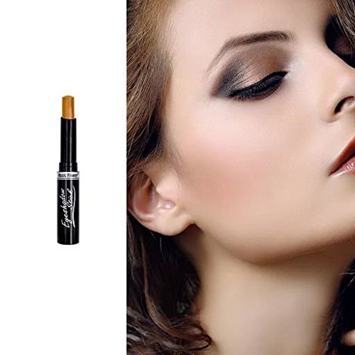 Expxon Music Flower Highlighter Eyeshadow Pencil Cosmetic Glitter Eye Shadow Eyeliner, Glitter Eyeshadow Shimmer Big Smokey Eyes Eyeliner Makeup Cosmetic