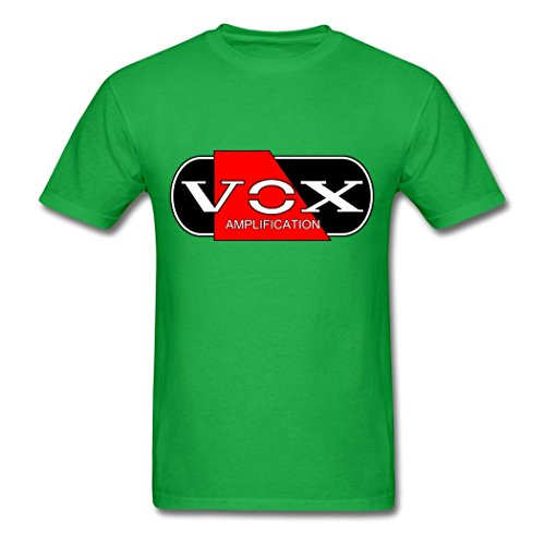 Price comparison product image LoveTS Funny Cotton Men's Vox Amp RBW T-Shirts Bright green Large