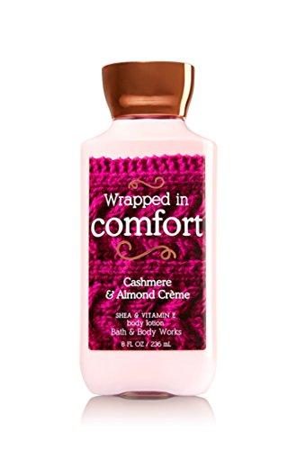 Bain & Body Works Shea & vitamine E Lotion enveloppé dans confort Cachemire & crème d'amandes