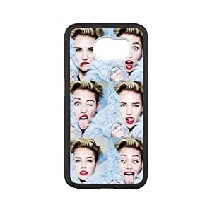 Custom Miley Cyrus Design TPU Snap On Case Cover Shell Protector Iphone 5/5S Case Cover (Laser Technology)