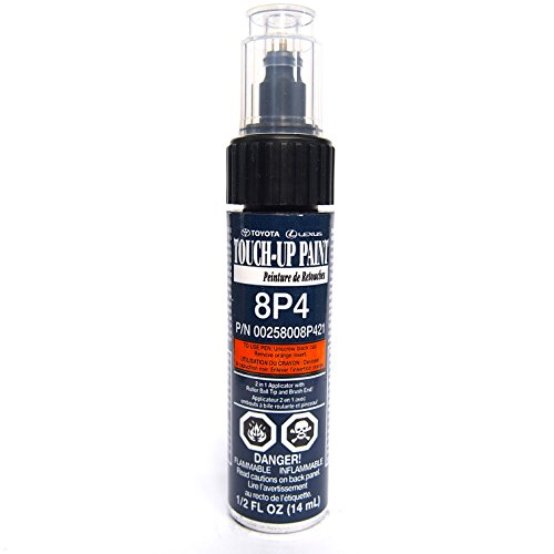 Genuine Toyota 00258-008P4-21 Dark Blue Pearl Touch-Up Paint Pen (.44 fl oz, 14 ml)
