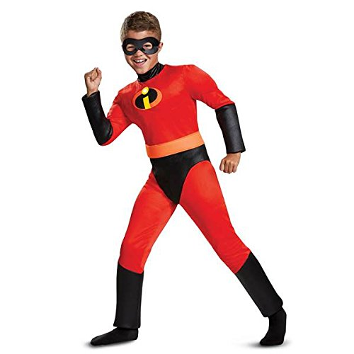 Disguise Dash Classic Muscle Child Costume, Red, Medium/(7-8) -