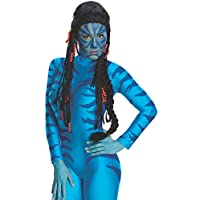 Avatar Neytiri Deluxe Peluca, Negro, Talla Única