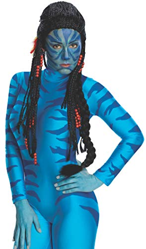 Avatar Neytiri Deluxe Wig, Black, One ()