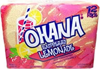 product image for Faygo Ohana Raspberry Lemonade Non-carbonated Soda 12 Pack 12 Oz Cans
