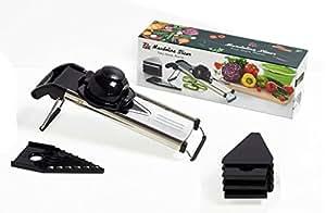 Ze&Li Mandoline Slicer V-Blade Vegetable Slicer Stainless Steel, Easy And Safe
