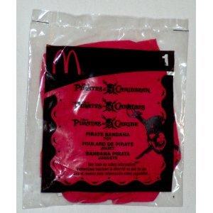 Price comparison product image McDonalds Pirates of the Caribbean #1 Bandana, 2006