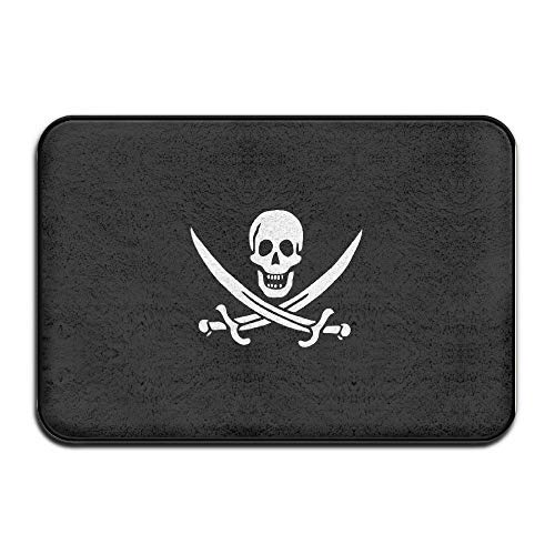 Tollyee Frank Marner Pirate Corsaire Outdoor Indoor Antiskid Absorbent Bedroom Livingroom Bath Mat Bathroom Shower Rugs Doormats