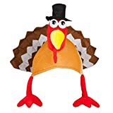 Turkey Hats for Happy Thanksgiving Party Costume Outfit Dress Decorations Novelty
