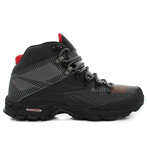 Reebok - Trail Chaser Mid - V52672 - Color  Black-Grey - Size ... ce8a35eaa0f