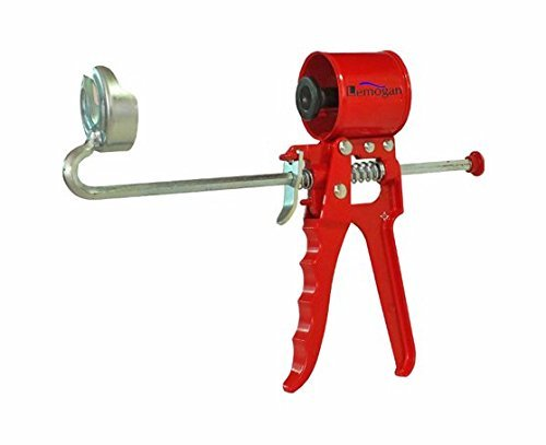 Lemogan's Compact Caulk Gun grade 1/10-gallon ,Extremely High Thrust Strength Squeezes 280 kg...