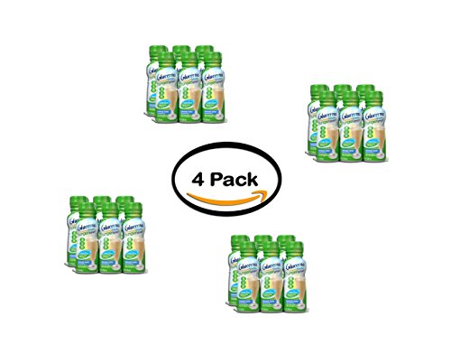 PACK OF 4 - Glucerna Hunger Smart Shake, To Help Manage Blood Sugar, Homemade Vanilla, 10 Oz, 6Ct