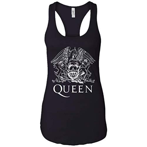 Queen Band Shirt Bohemian Rhapsody Shirt British Rock Band Tank Top Black