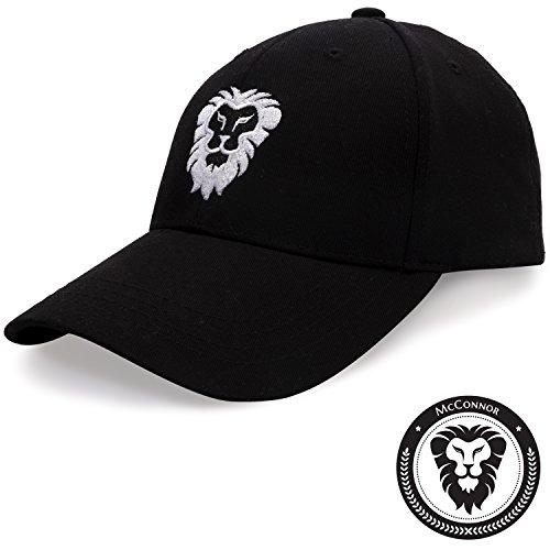 McConnor Golf Hat For Men and Women - Adjustable Pro Sports Cap For Running Tennis Baseball (Season Cap Clothing)