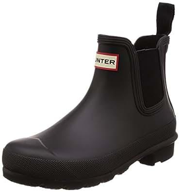 Hunter Original Chelsea Women's Boots, Black, 5 US