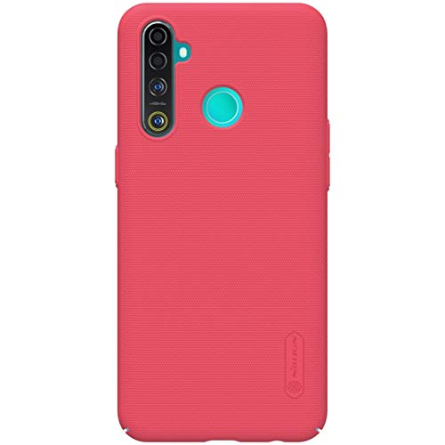 Nillkin Case for Oppo Realme Real Me 5 Pro Super Frosted Hard Back Cover PC Red Color