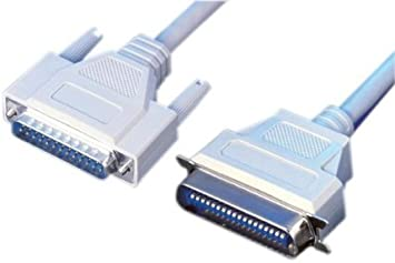 6ft Parallel Printer Cable Db25m//cent36m