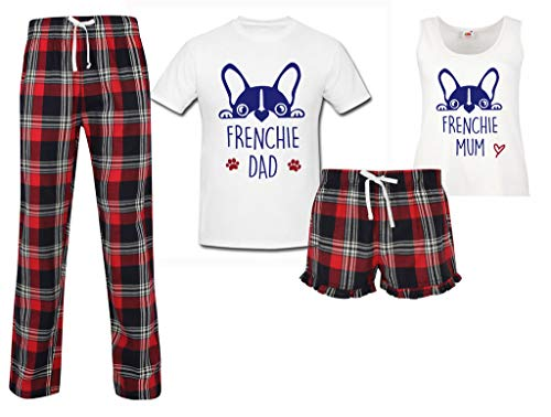 escoceses Daddy Second pijamas Makeover 60 Frenchie de Red Bulldog Limited Dog Mom Juego wzBRqWIaR