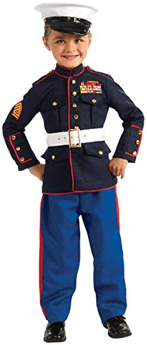 Marine Dress Blues Child Costume - -