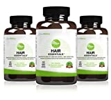 Hair Essentials Natural Herbs and Vitamins Hair Growth Supplement for Women and Men