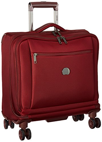 Ballistic Tote Laptop (Delsey Luggage Montmartre+ Spinner Business Travel Tote, Bordeaux)