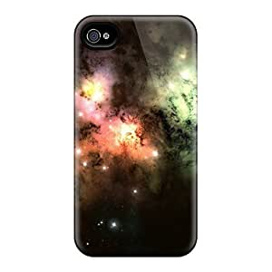 New Shockproof Protection Ipod Touch 4 Colorful Cosmic Clouds Cases Covers
