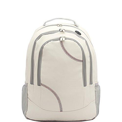zumer-sport-unisex-backpack-baseball-white-one-size