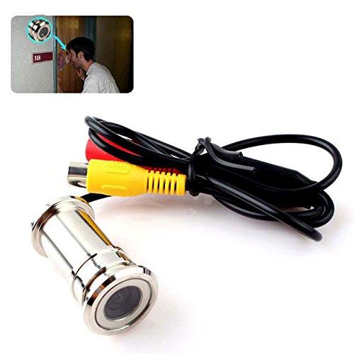 "New Mini 1/4"" CMOS Sensor Surveillance CCTV Door Eye Hole Security Color Camera"