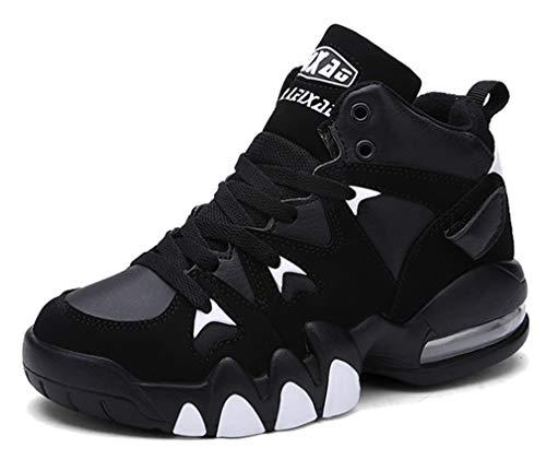 Chaudes Chaussures Classiques Femaroly Cushion Et De ball Noir Blanc Air Respirantes Pour Sneaker Basket Sport Hommes awwqCWdvP