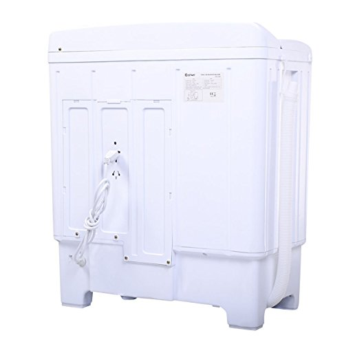 giantex portable mini compact tub 11lb washing machine washer spin dryer