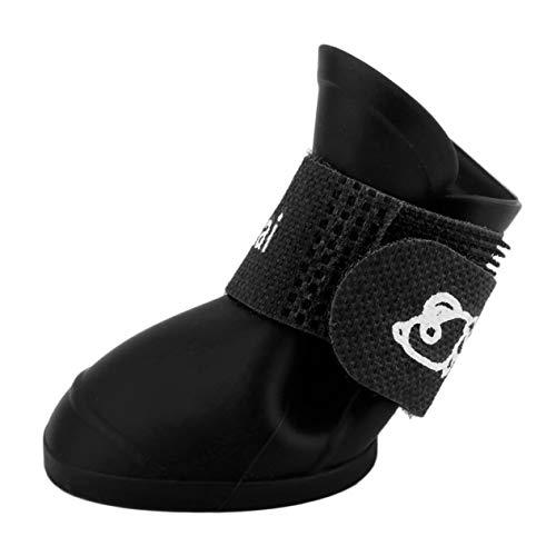 moda scarpe in Ironheel piccoli PVC animale Tipo Creative Design confortevole cani Boots e morbide di domestico bella i pioggia per cani impermeabile vwa64v