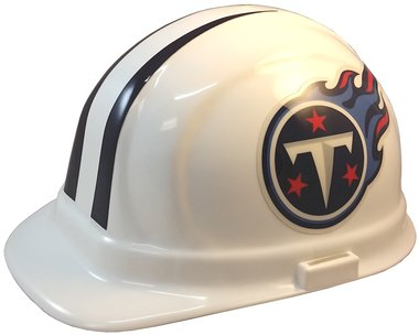Texas American Safety Company Tennessee Titans Hard Hats, ERB Style with Standard Suspension 1