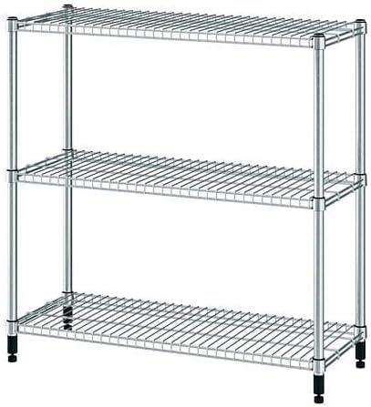 Unbekannt IKEA Estantería Omar 92 x 36 x 94 cm, galvanizado y ...
